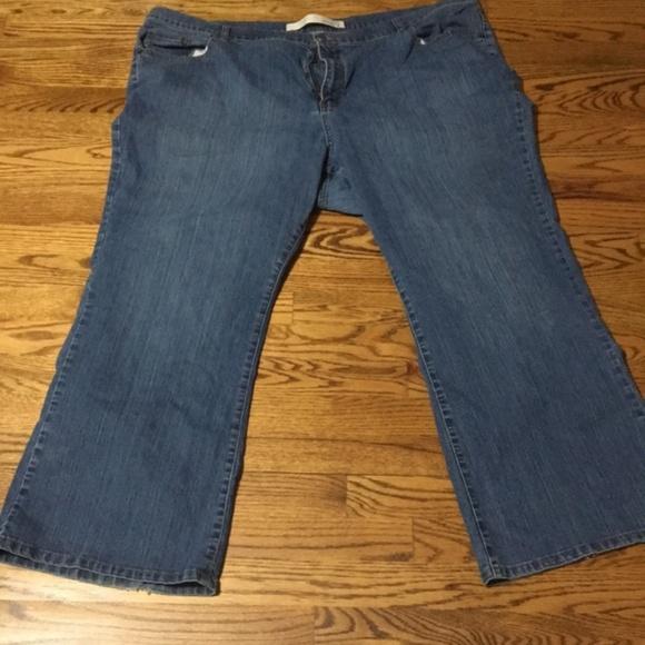 954cb0acb09 Lane Bryant Denim - Women s Venezia Flare Wide leg plus size jean